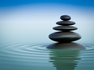 Balancing Zen Stones In Water by Master isolated images courtesy of www.FreeDigitalPhotos.net