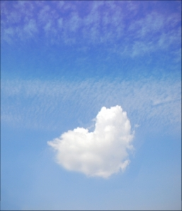 Heart Shaped Cloud by tokyoboy courtesy of www.freedigitalphotos.net