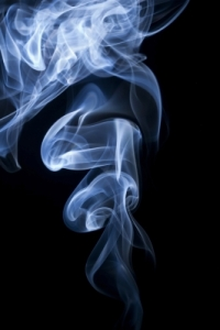 Smoke On The Black Background by foto76